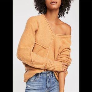 Free People Aurora Cashmere Tunic sweater